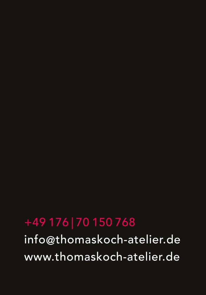 Kontakt Atelier Thomas Koch